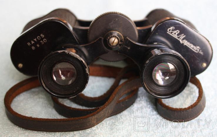 Бінокль Rayos (8 x 30) E.B.Meyrowitz від Піонера Оптики Еміля Бруно Мейровіца., фото №2