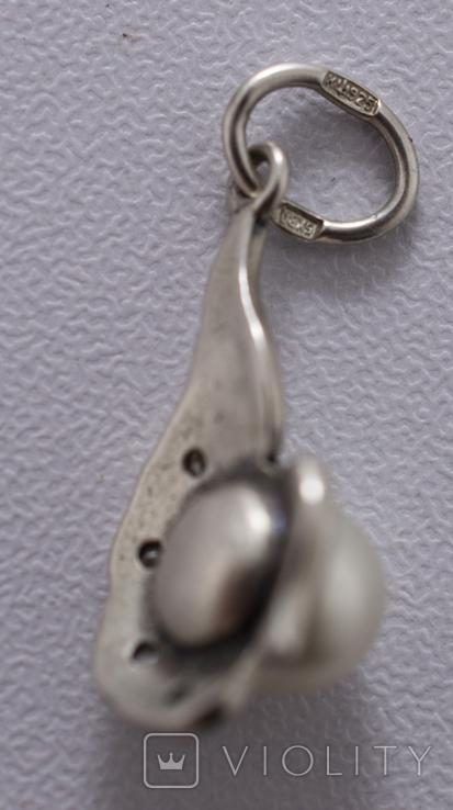 Гарнітур срібний, фото №4