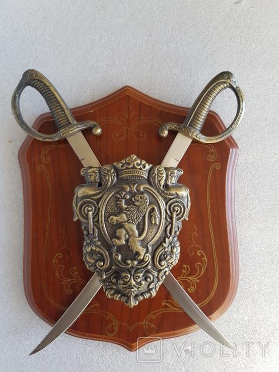 Сабли сувенирные .набор на стену, фото №2