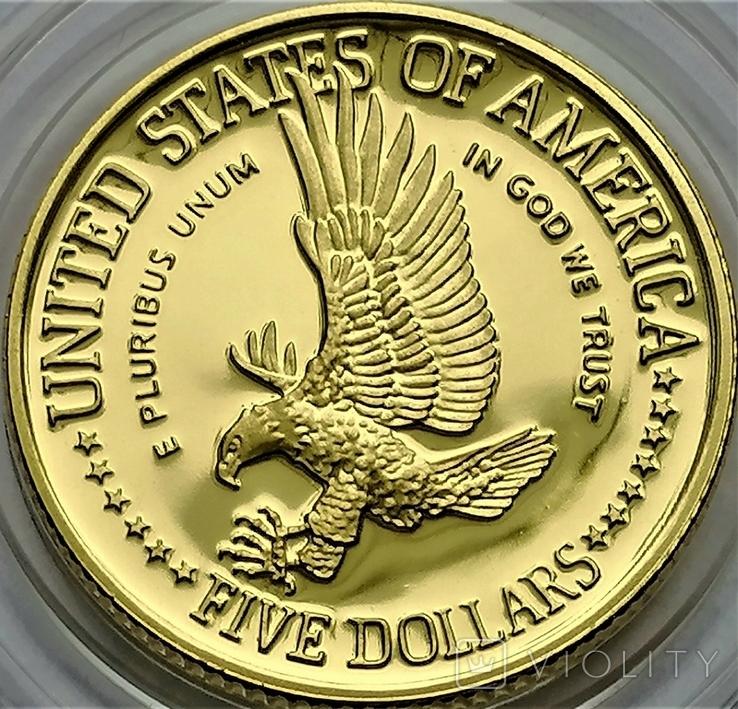5 доларів 1986 року, STATUE OF LIBERTY CENTENNIAL, Сторіччя статуї Свободи, фото №5