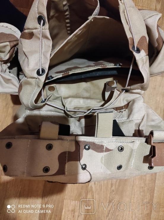 Рюкзак разгрузка, секция под бронепластину., фото №6