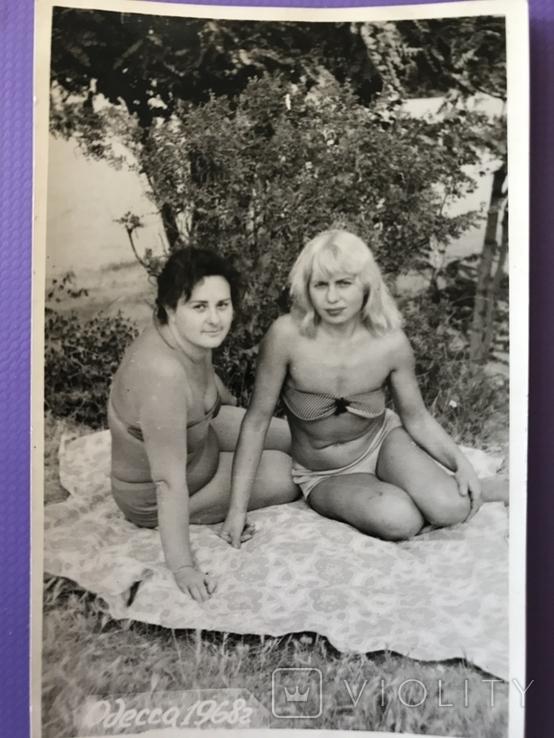 1968 Одесса Девушки в купальниках, фото №6