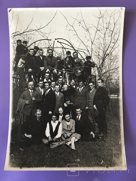 1930 Одесса Группа чиновников и гражданских, фото №2
