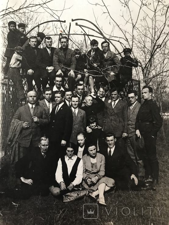 1930 Одесса Группа чиновников и гражданских, фото №4