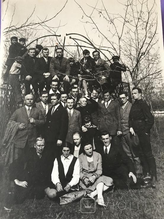 1930 Одесса Группа чиновников и гражданских, фото №6