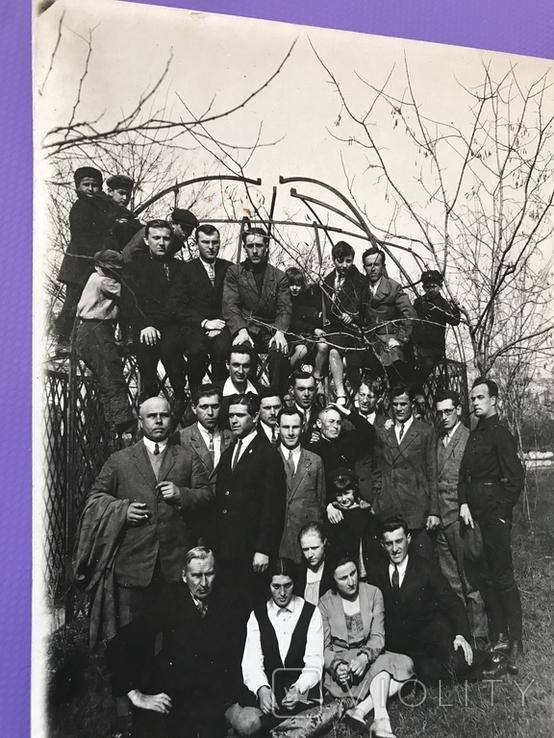 1930 Одесса Группа чиновников и гражданских, фото №8