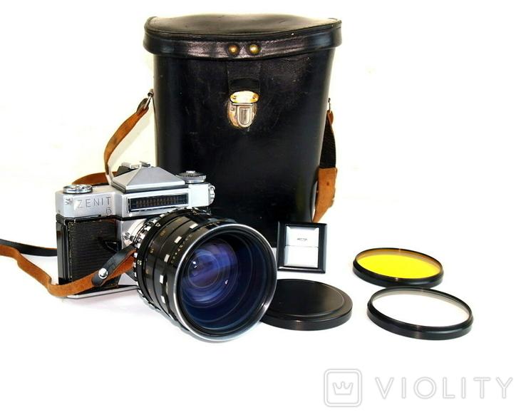 Фотоаппарат ЗЕНИТ - 6 Объектив РУБИН - 1, фото №2