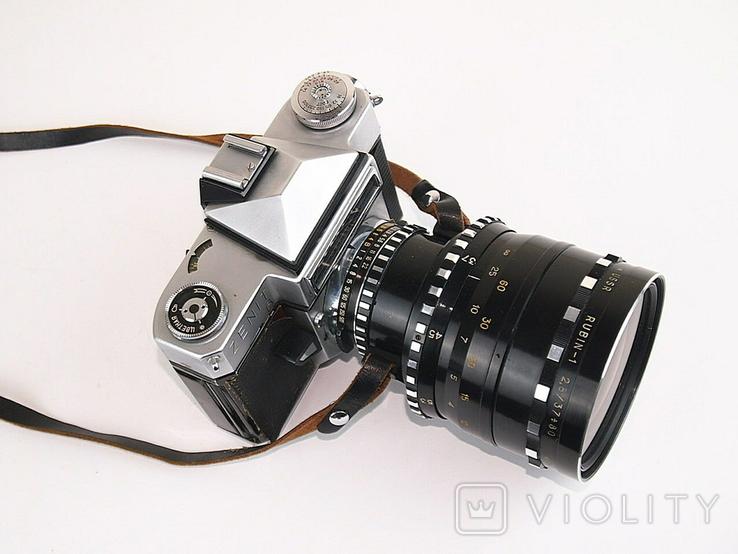 Фотоаппарат ЗЕНИТ - 6 Объектив РУБИН - 1, фото №5