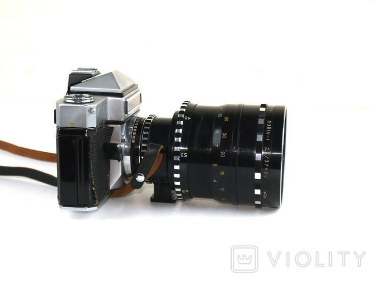 Фотоаппарат ЗЕНИТ - 6 Объектив РУБИН - 1, фото №10