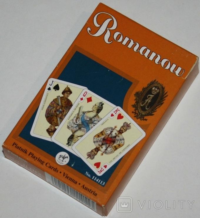 """Игральные карты """"Romanow"""" тип 2.(полная колода,55 листов) Piatnik.,Австрия, фото №2"""