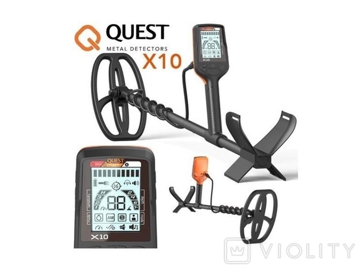 Металлоискатель Quest X10, фото №2