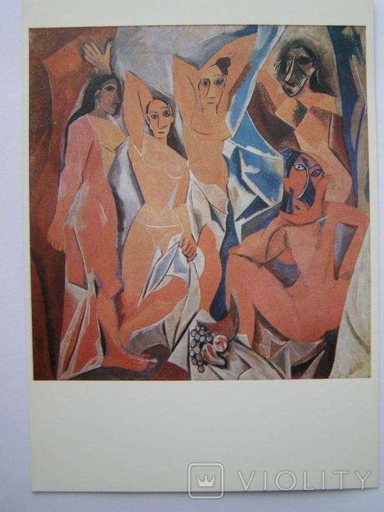 Худ. П.Пикассо. Девушки Авиньонна. пр-ва ГДР, фото №4