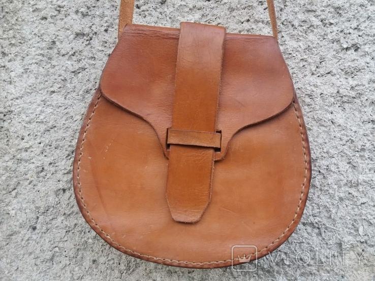 Кожаная сумка, фото №3