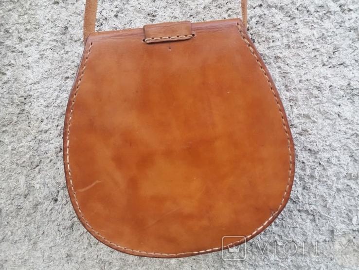 Кожаная сумка, фото №4