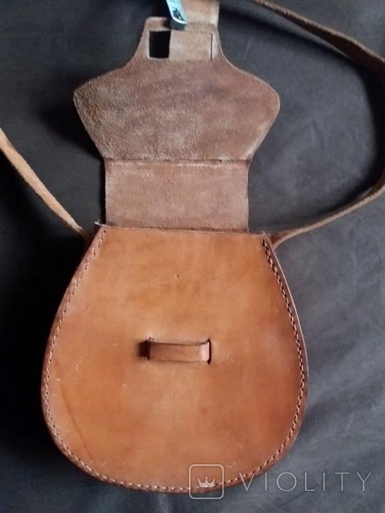 Кожаная сумка, фото №11
