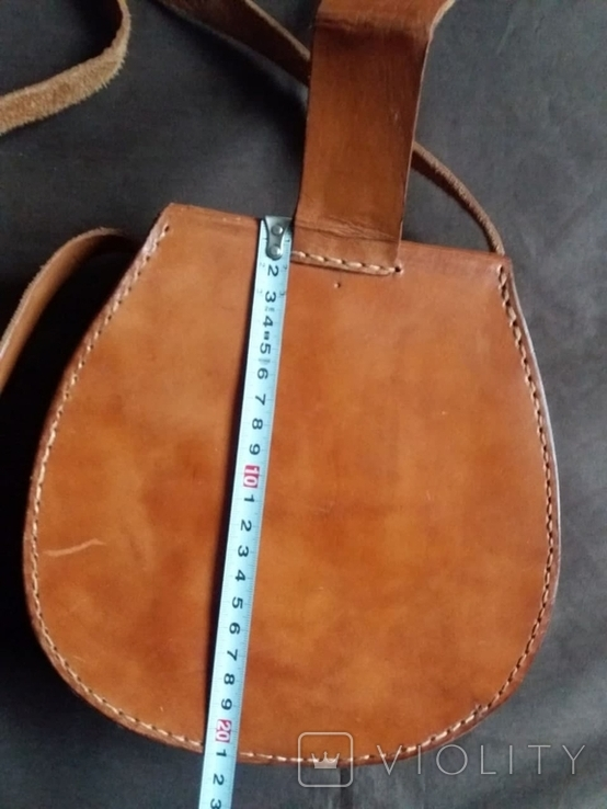Кожаная сумка, фото №12