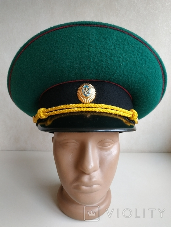 Фуражка пограничника Украины, фото №2