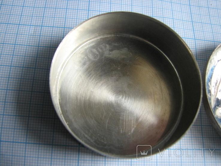 Шкатулка серебро 800пр. вес - 36,3г, фото №4