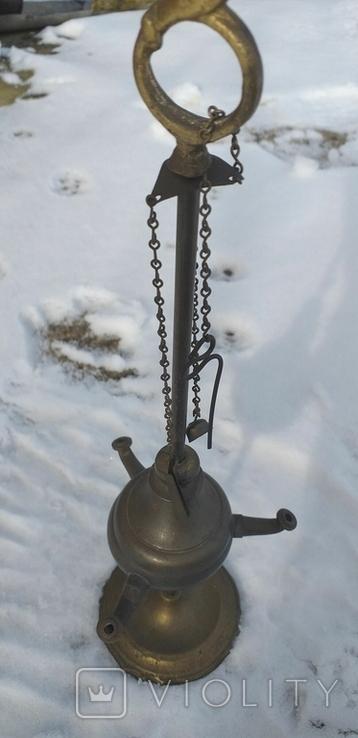 Масляна лампа Європа, фото №2