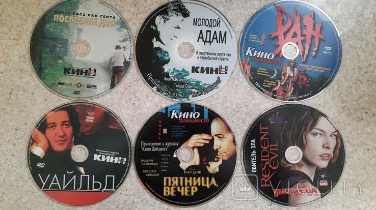 "27 дисків DVD-5 додаток до журналу ""Кино дайджест"" + бонус сумка, фото №2"