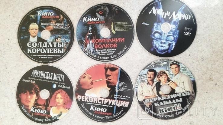 "27 дисків DVD-5 додаток до журналу ""Кино дайджест"" + бонус сумка, фото №3"