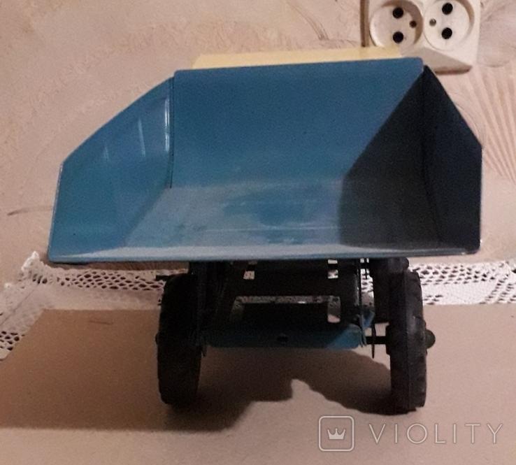 Игрушка СССР Машина Грузовик Самосвал большая,металл,комплектная, фото №10