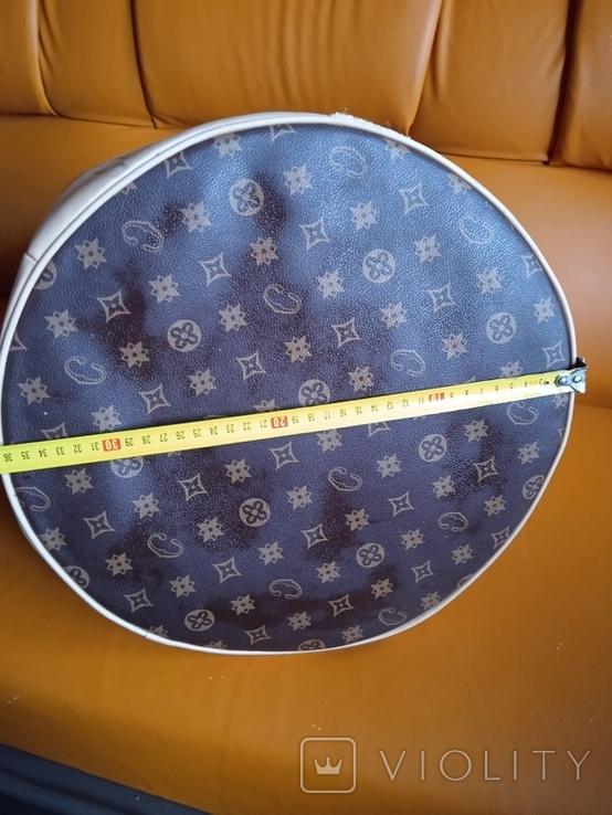 Большая фирменная кожаная сумка, фото №4