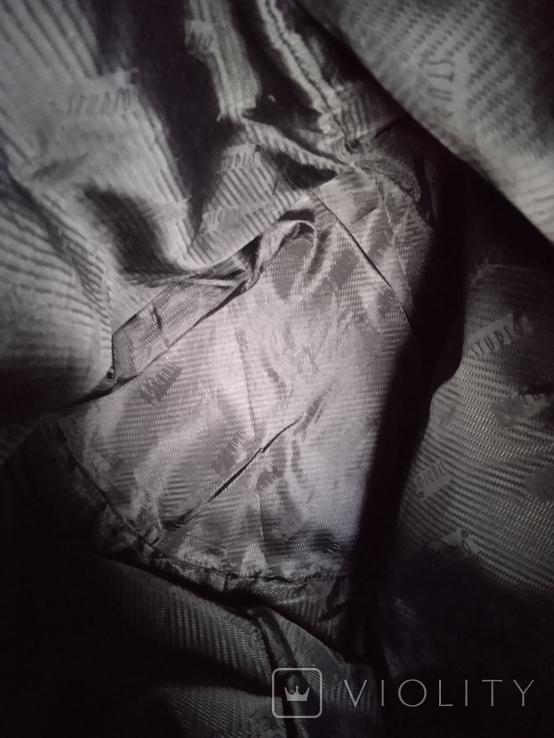 Большая фирменная кожаная сумка, фото №12