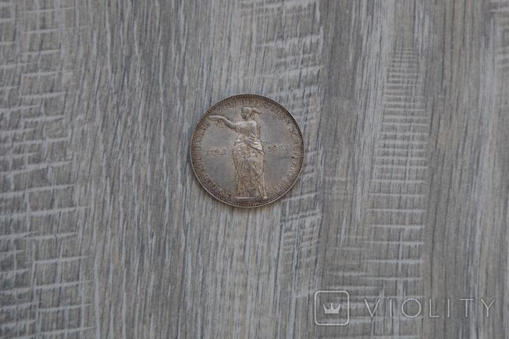 Стрілковий талер 1862, фото №2