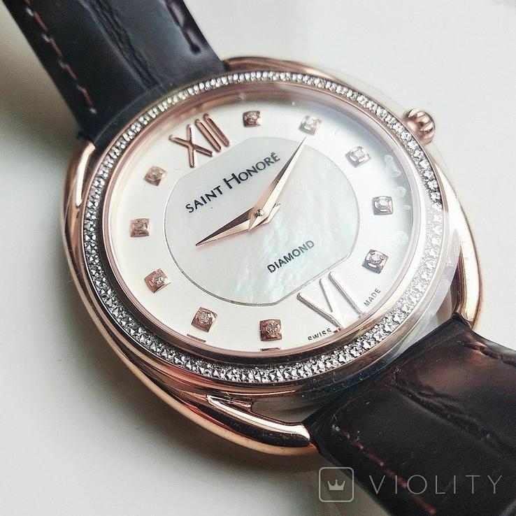 Женские часы SAINT HONOR Diamond, Swiss made, новые, фото №4
