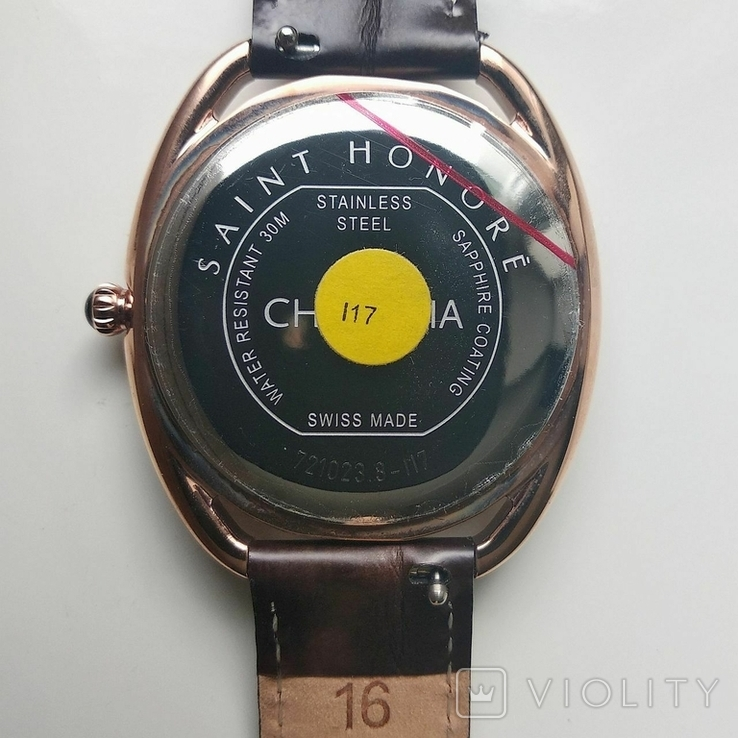 Женские часы SAINT HONOR Diamond, Swiss made, новые, фото №5