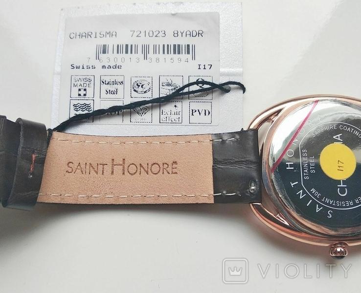Женские часы SAINT HONOR Diamond, Swiss made, новые, фото №6
