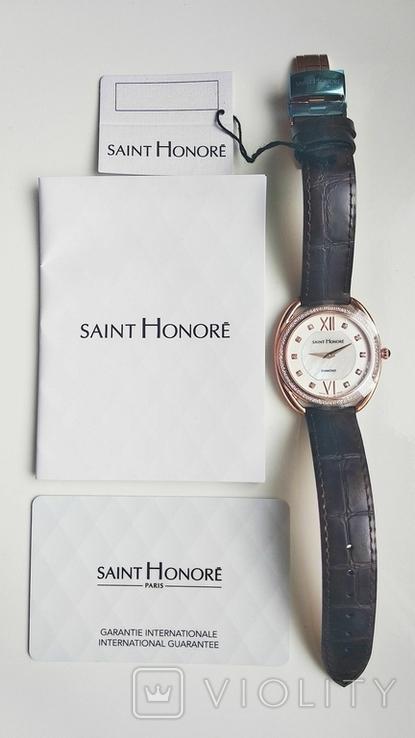 Женские часы SAINT HONOR Diamond, Swiss made, новые, фото №9