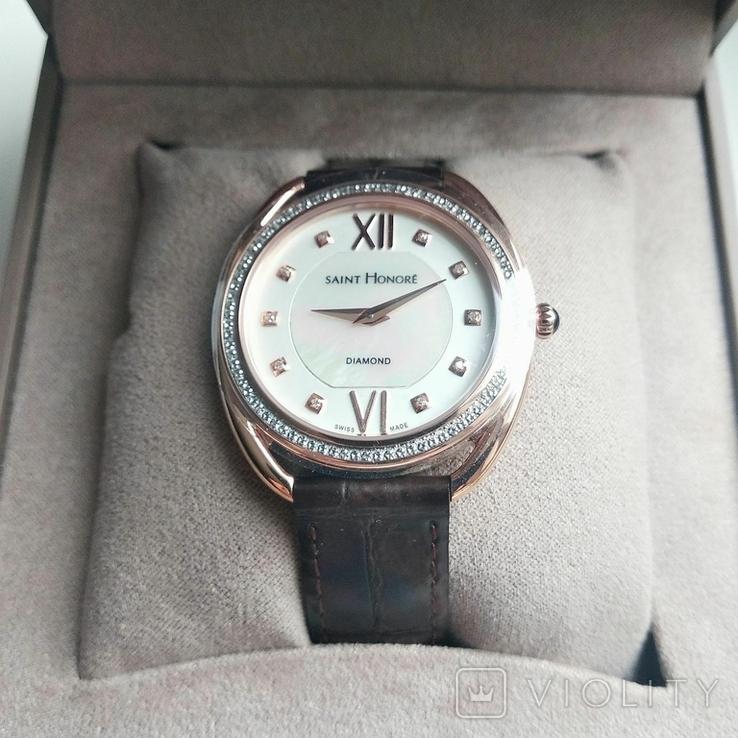 Женские часы SAINT HONOR Diamond, Swiss made, новые, фото №11