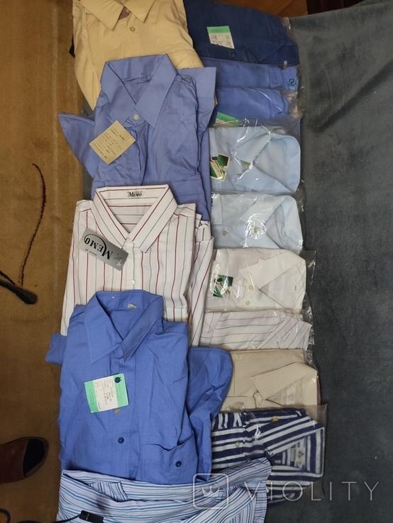 Сорочки часів СРСР, 14 штук, нові, фото №2