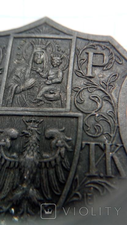 Відзнака Z.P.CH.T.K. гравера E.M.Unger Lwow, фото №3