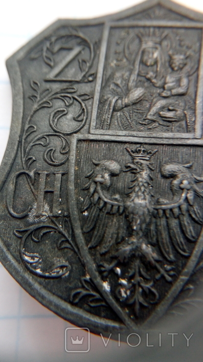 Відзнака Z.P.CH.T.K. гравера E.M.Unger Lwow, фото №4