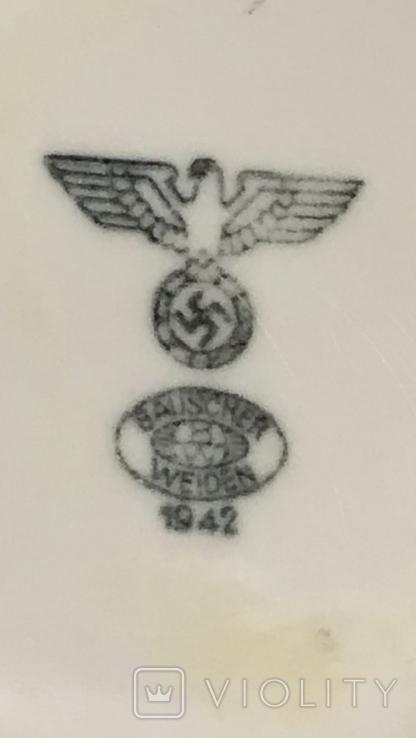Кружка Вермахта. Третий Рейх, свастика., фото №5