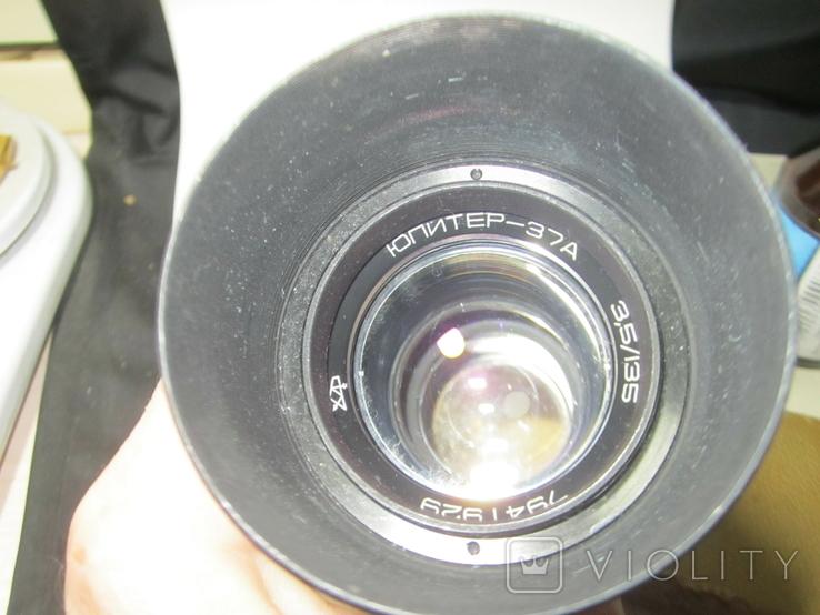 Объектив Юпитер 37 А, фото №2