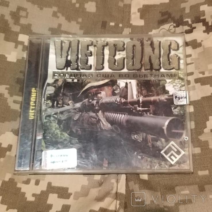 Диск PC CD-ROM VIETCONG спецназ США во Вьетнаме, фото №2