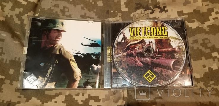Диск PC CD-ROM VIETCONG спецназ США во Вьетнаме, фото №4