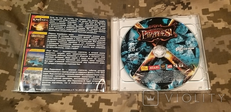 Диск PC CD-ROM Pirates, фото №4