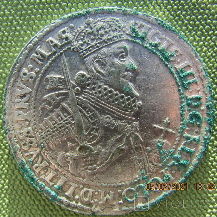 Легкий Талер Сигизмунда 3, 1621г., фото №2