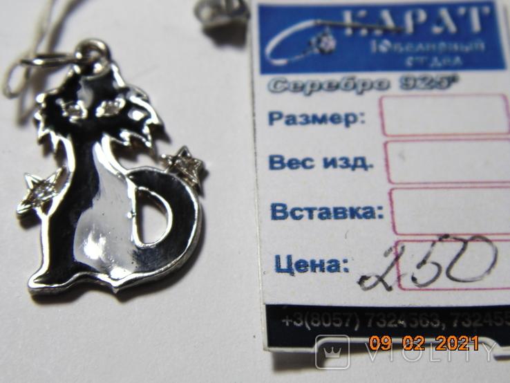 Кулон Сказка. 3.15 грм., фото №8