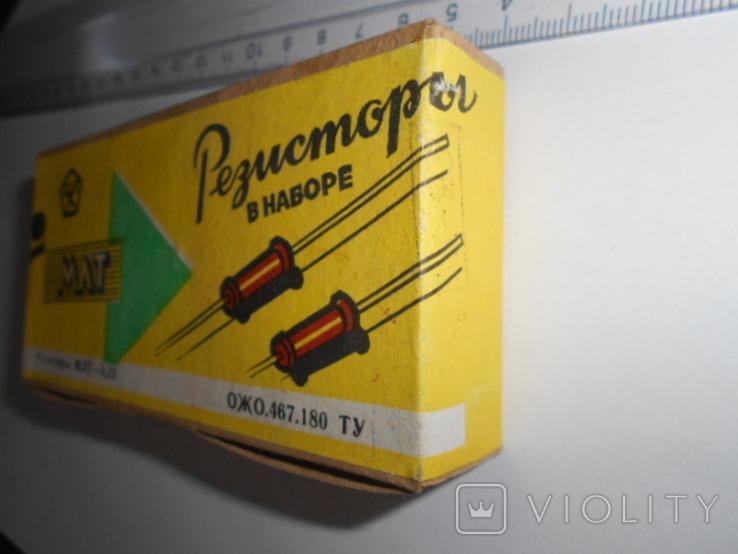 Резисторы в наборе МЛТ - 0,25 от 8,2 Ом до 3,6 мОм . 20 шт., фото №5