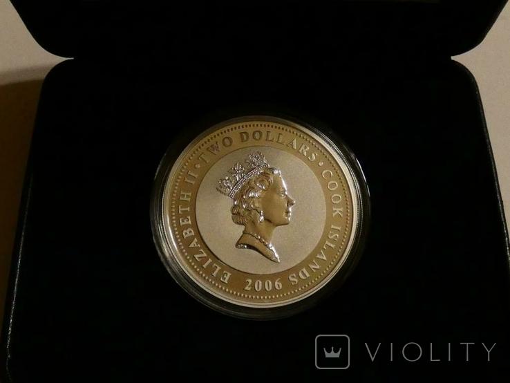 Классические спидстеры 30-х годов - Аубурн - серебро, унция, 2 доллара, фото №3