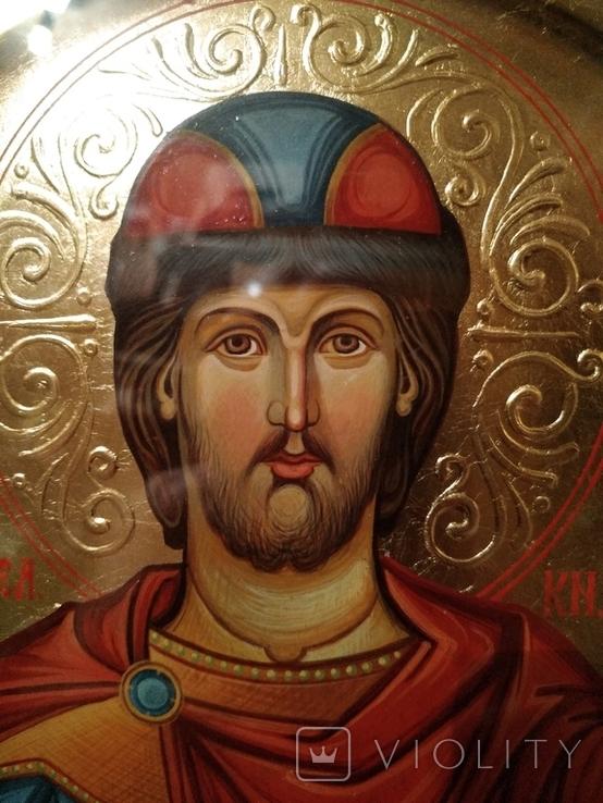 Икона Александр Невский, фото №5