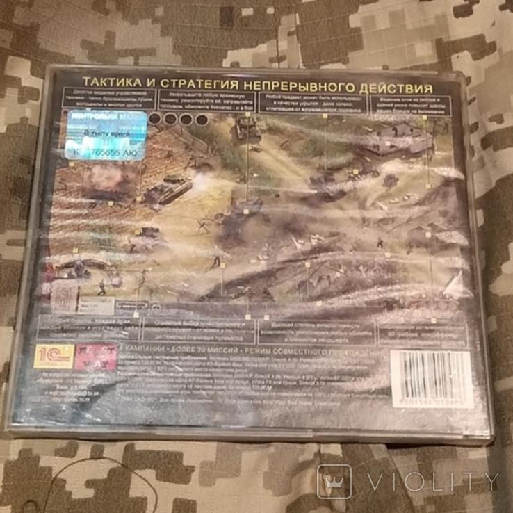 Диск PC CD-ROM В тылу ВРАГА, фото №3