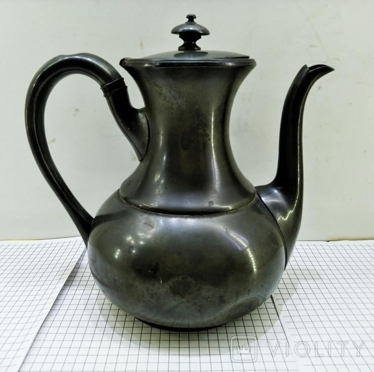 Чайник антикварный james dixon sons 1823 - 1920. Англия, фото №3
