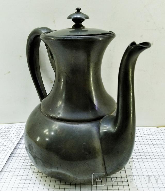 Чайник антикварный james dixon sons 1823 - 1920. Англия, фото №6